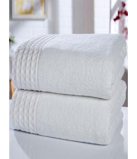 Retreat 2 Piece Towel Bale White