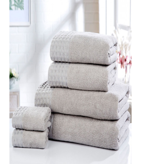 Retreat 6 Piece Towel Bale Silver