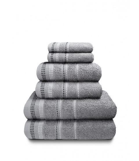 Berkley 6 Piece Towel Bale Silver