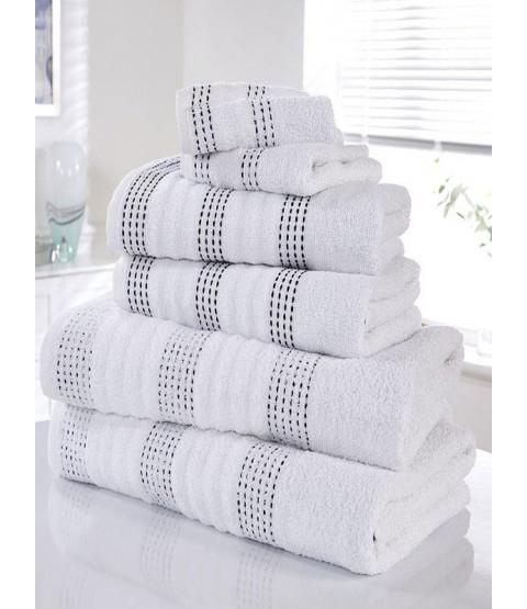 Spa 6 Piece Towel Bale White