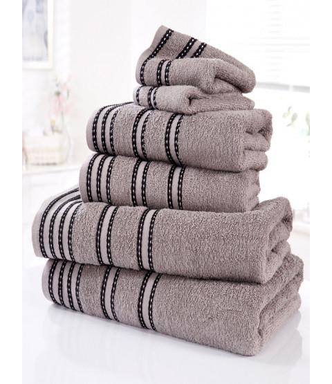 Sirocco 6 pezzi Asciugamano Balla di carbone