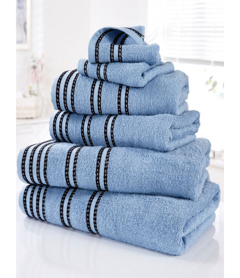 Sirocco 6 Piece Towel Bale Denim