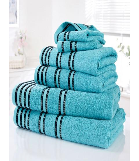Sirocco 6 Piece Towel Bale Turquoise