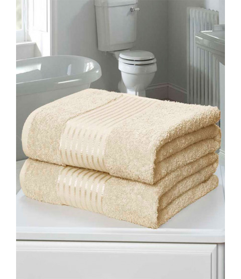 Windsor 2 pezzi asciugamano crema per balle