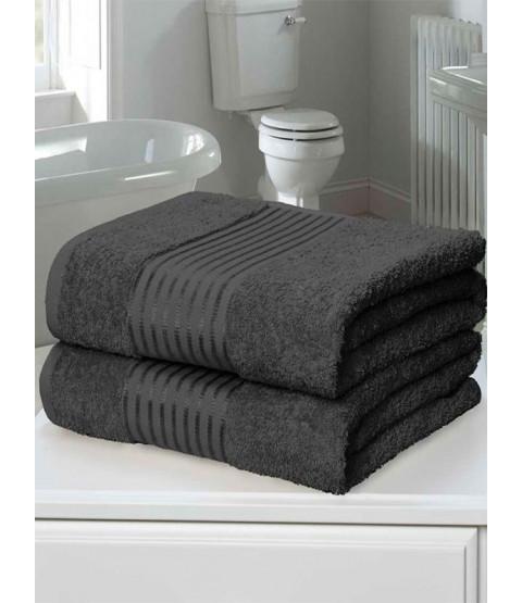 Windsor 2 Piece Towel Bale Grey