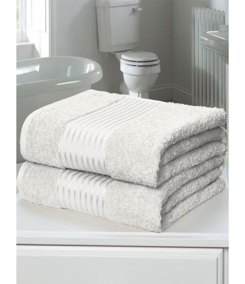 Windsor 2 Piece Towel Bale White