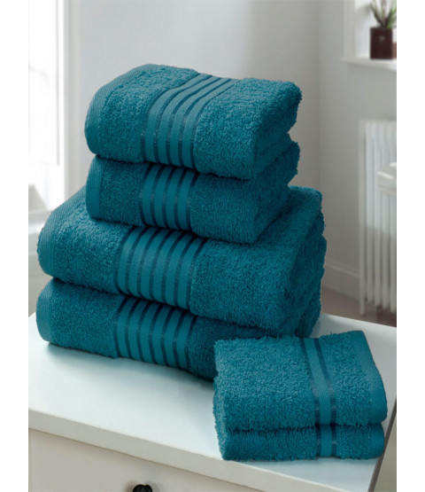 Windsor 6 Piece Towel Bale Teal