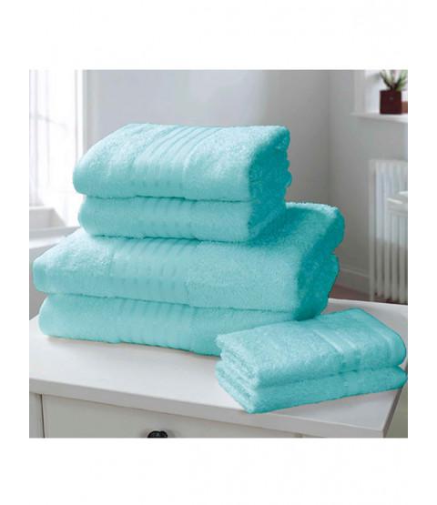 Windsor 6 pezzi asciugamano balla turchese