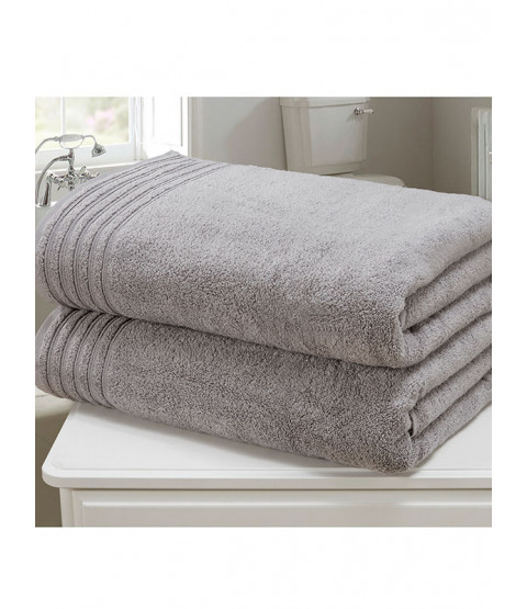 So Soft 2 Piece Towel Bale Charcoal