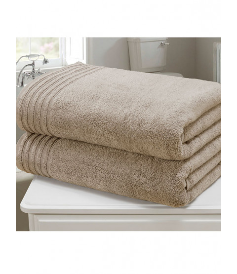 So Soft 2 Piece Towel Bale Taupe