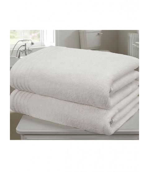 So Soft 2 Piece Towel Bale White