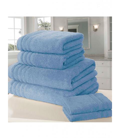 So Soft Asciugamano 6 pezzi blu balla