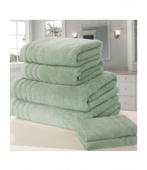 So Soft 6 Piece Towel Bale Sea Green