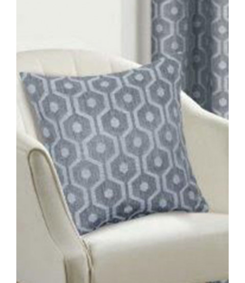 Belle Maison Cushion Cover  - Milano Range, Silver