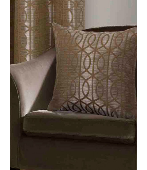 Belle Maison Cushion Cover  - Tuscany Range, Ochre