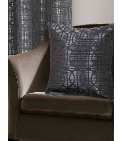 Belle Maison Cushion Cover  - Tuscany Range, Silver