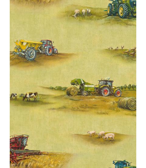 Rasch Tractor Wallpaper - 293203