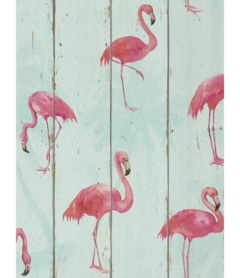 Fondo de pantalla de Rasch Barbara Becker Flamingo - Teal 479706
