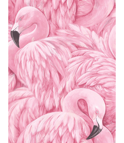 Flamingo Wallpaper Pink Rasch 277890