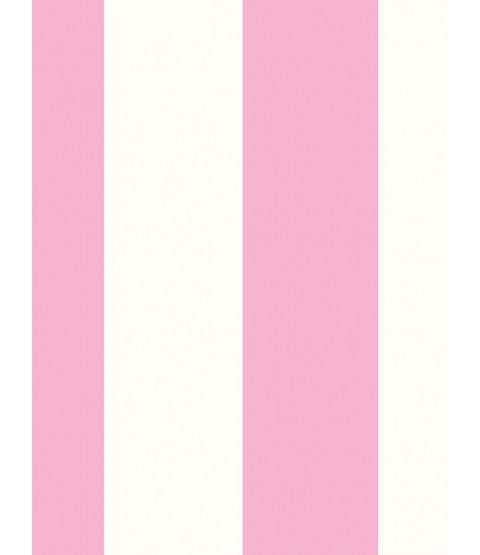 Stripe Wallpaper Pink and White Rasch 286908