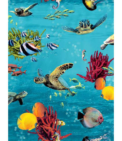 Sea Life Wallpaper Multi Rasch 310405