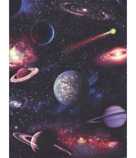 Space Planets Wallpaper Multi Rasch 815429