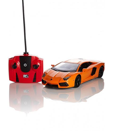 Lamborghini Aventador Orange 1:24 Scale Radio Control Car