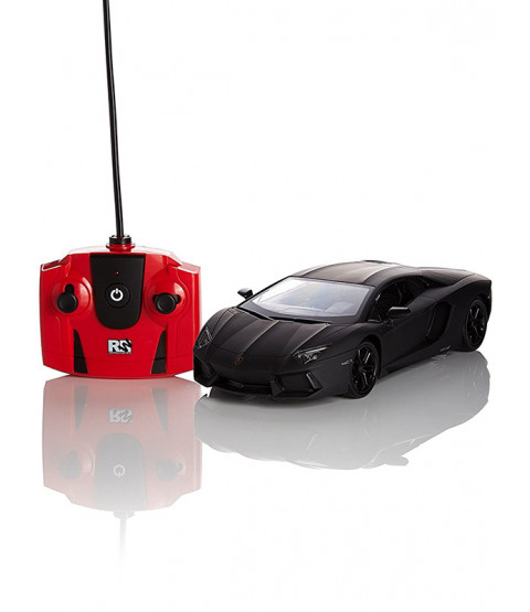 Lamborghini Aventador Black 1:24 Scale Radio Control Car