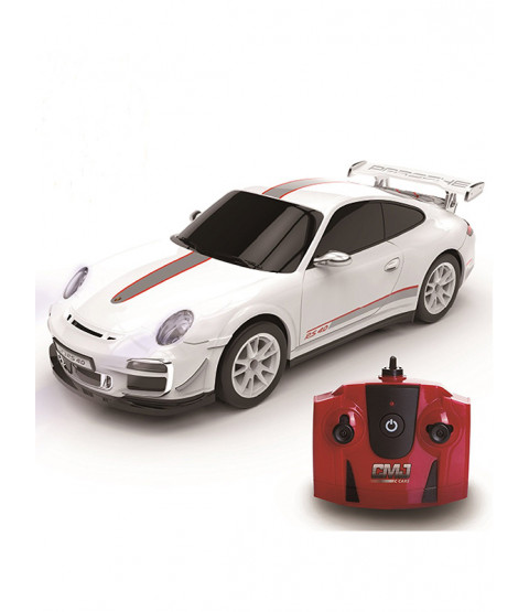 Porsche 911 GTR3 White 1:24 Scale 2.4GHz Radio Control Car