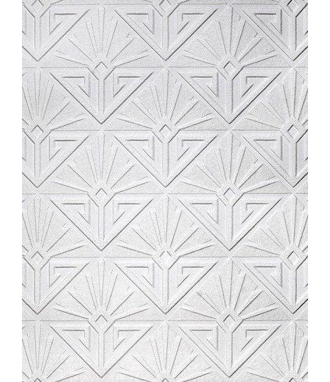 Deco Paradiso Textured Vinyl Paintable Wallpaper Anaglypta RD576
