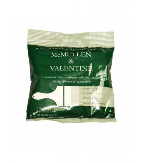Pasta adhesiva de papel tapiz multipropósito M&V: paquete de 5 rollos estándar