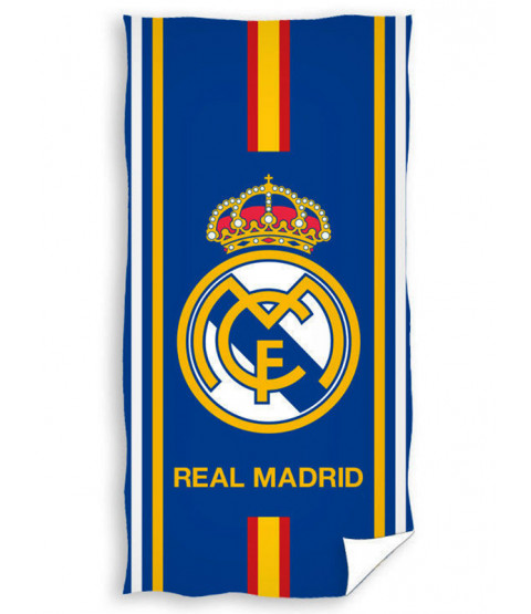 Real Madrid CF Blue Stripe Towel