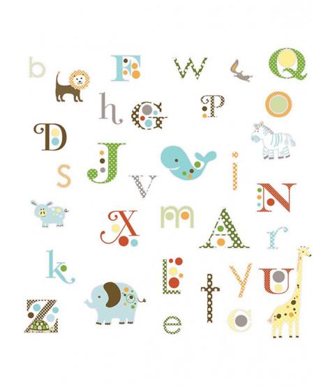 Room Mates Animal Alphabet Vinilos decorativos