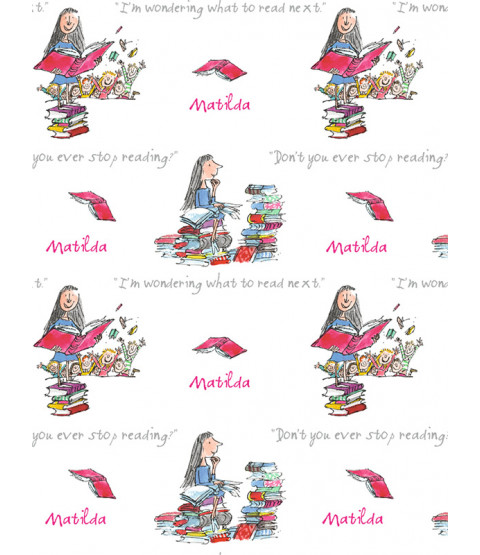 Roald Dahl Matilda Wallpaper - Muriva 601525