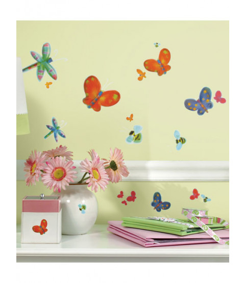 Room Mates Jelly Bugs Wall Stickers