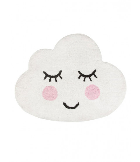 Sweet Dreams Smiling Cloud Floor Rug