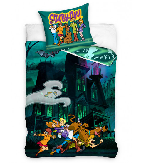 Scooby Doo Ghost Single Cotton Duvet Cover Set