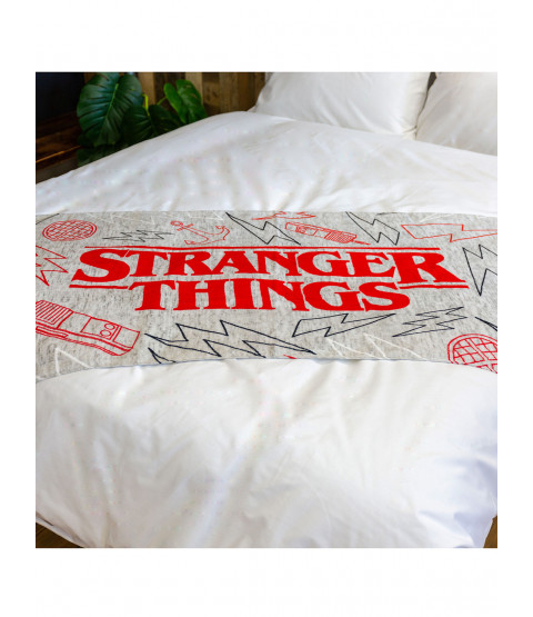 Stranger Things Logo Panel Towel