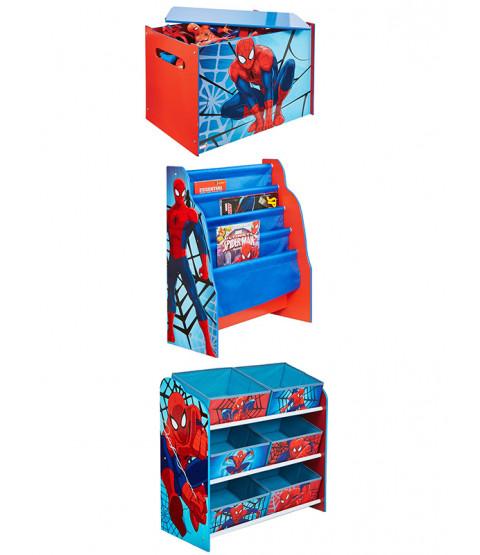 Set di mobili per camera da letto Spiderman