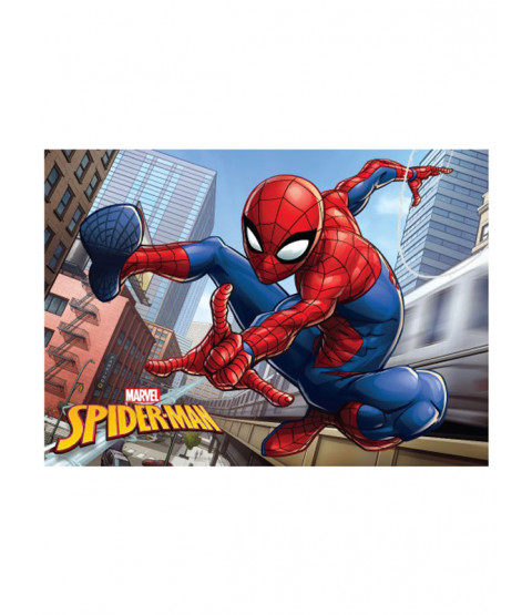 Spiderman City Floor Mat Rug 40cm x 60cm