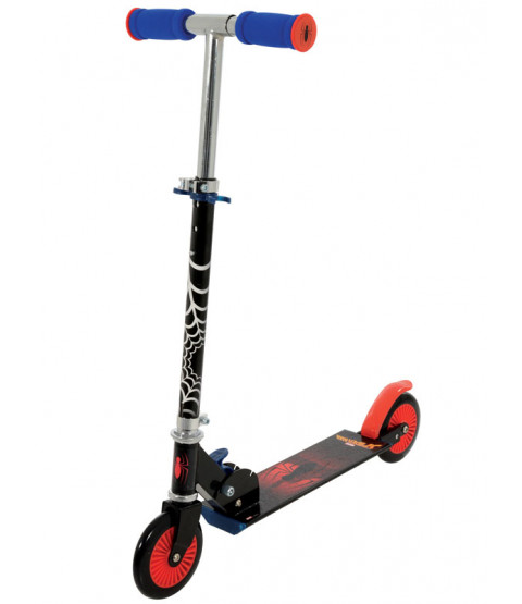 Spiderman Folding In Line Scooter