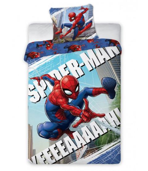 Spiderman Yeah Single Cotton Duvet Cover Set