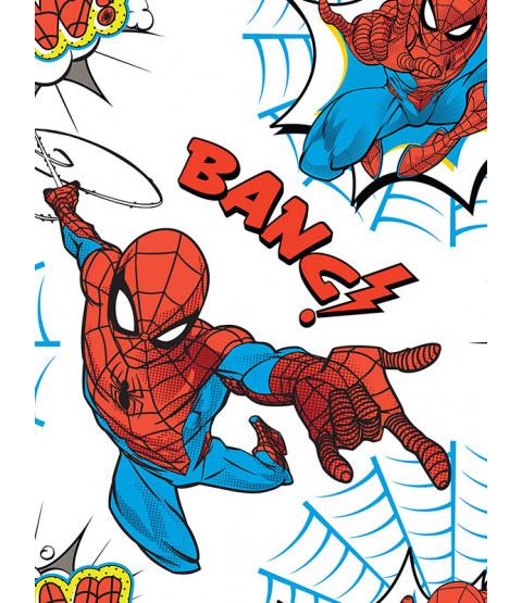 Spiderman Pow Wallpaper White / Multi Graham & Brown 108553