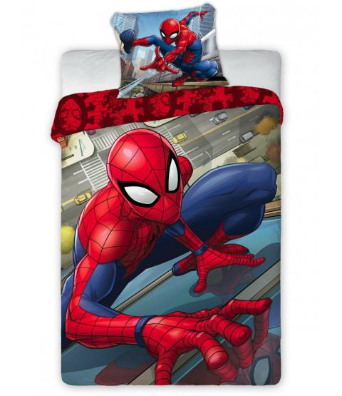 Spiderman Single Cotton Duvet Cover Set - European Size