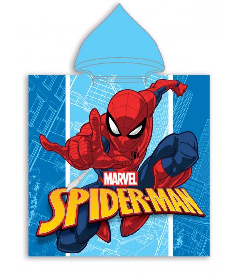 Spiderman Hooded Towel Poncho