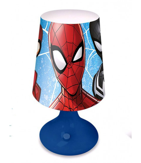 Spiderman Blue Table Lamp