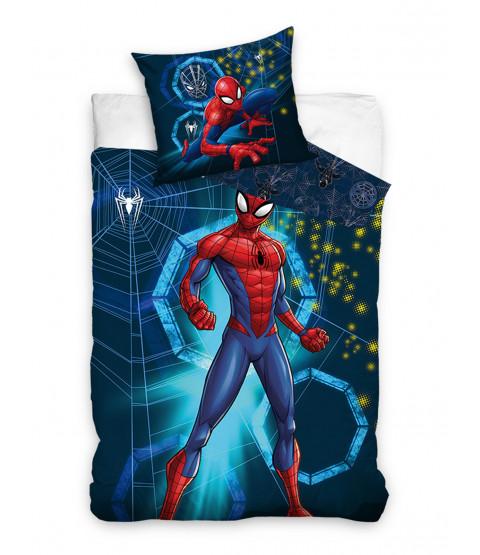 Spiderman Reversible 100% Cotton Single Duvet Set - European Size