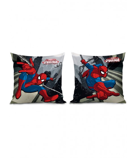 Spiderman Reversible Filled Cushion