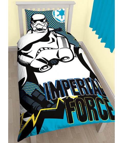 Star Wars Rebels Imperial Single Duvet Cover Bedding Set