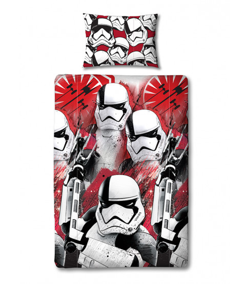 Star Wars Episode VIII Stormtrooper Single Duvet Cover Set